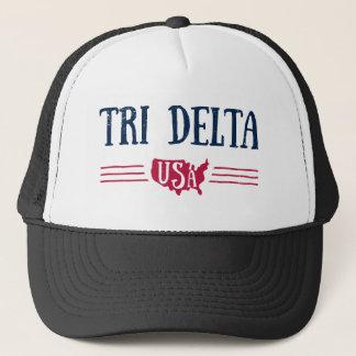Delta Delta Delta   USA Trucker Hat