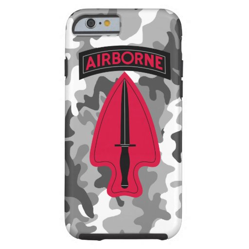 Delta Force - ARMY SPECIAL OPERATIONS COMMAND Tough iPhone 6 Case