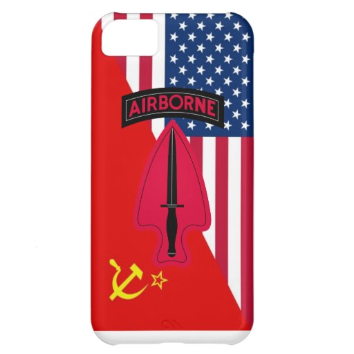 """Delta Force  """"Cold War Paint Scheme"""" Case For iPhone 5C"""