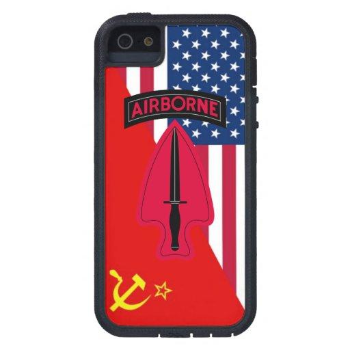 """Delta Force  """"Cold War Paint Scheme"""" iPhone 5 Cases"""
