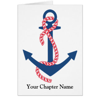 Delta Gamma Anchor Card