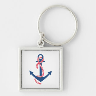 Delta Gamma Anchor Key Ring