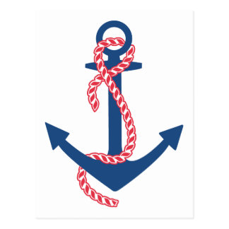 Delta Gamma Anchor Postcard