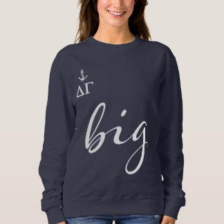 Delta Gamma | Big Script Sweatshirt