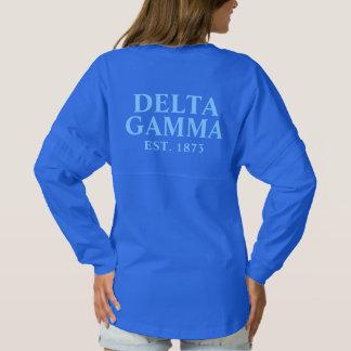Delta Gamma Blue Letters Spirit Jersey