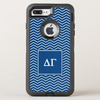 Delta Gamma | Chevron Patter OtterBox Defender iPhone 7 Plus Case