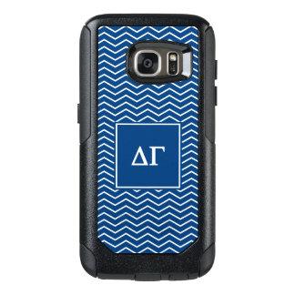 Delta Gamma | Chevron Patter OtterBox Samsung Galaxy S7 Case