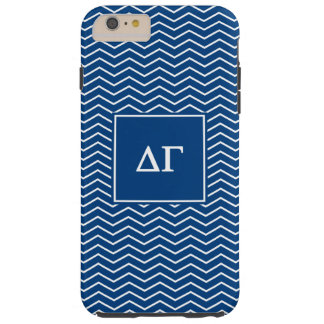 Delta Gamma | Chevron Patter Tough iPhone 6 Plus Case