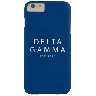 Delta Gamma | Est. 1873 Barely There iPhone 6 Plus Case