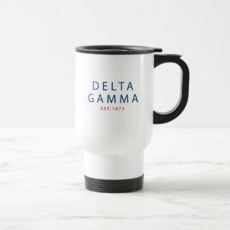 Delta Gamma | Est. 1873 Travel Mug
