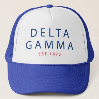 Delta Gamma   Est. 1873 Trucker Hat