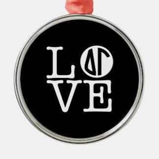 Delta Gamma | Love Christmas Ornament