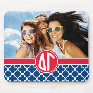 Delta Gamma | Monogram and Photo Mouse Mat