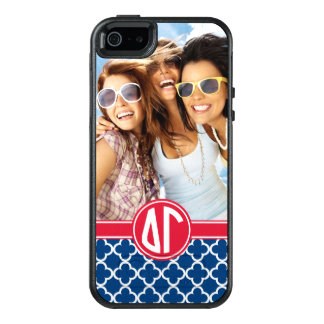 Delta Gamma | Monogram and Photo OtterBox iPhone 5/5s/SE Case
