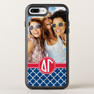 Delta Gamma | Monogram and Photo OtterBox Symmetry iPhone 7 Plus Case