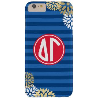 Delta Gamma | Monogram Stripe Pattern Barely There iPhone 6 Plus Case