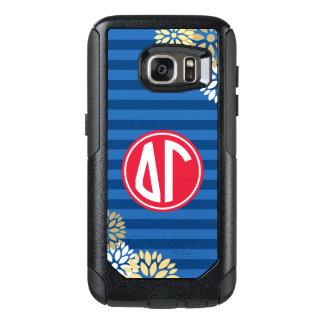 Delta Gamma | Monogram Stripe Pattern OtterBox Samsung Galaxy S7 Case