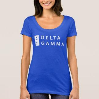 Delta Gamma | Stacked Logo T-Shirt