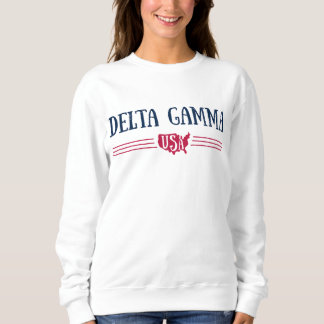 Delta Gamma | USA Sweatshirt