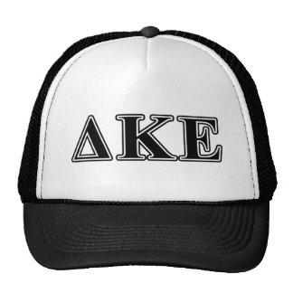 Delta Kappa Epsilon Black Letters Cap