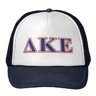 Delta Kappa Epsilon Blue and Red Letters Cap