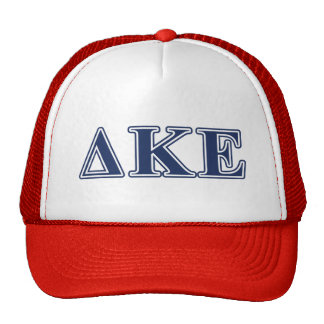 Delta Kappa Epsilon Blue Letters Cap