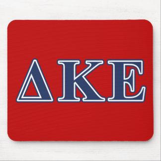 Delta Kappa Epsilon Blue Letters Mouse Pad