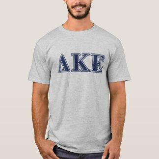 Delta Kappa Epsilon Blue Letters T-Shirt