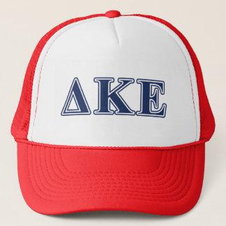 Delta Kappa Epsilon Blue Letters Trucker Hat