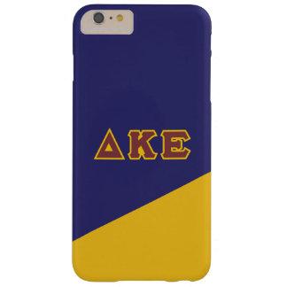 Delta Kappa Epsilon   Greek Letters.ai Barely There iPhone 6 Plus Case