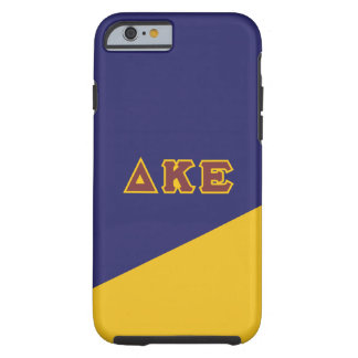 Delta Kappa Epsilon | Greek Letters.ai Tough iPhone 6 Case