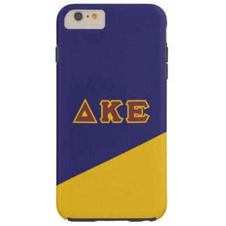 Delta Kappa Epsilon   Greek Letters.ai Tough iPhone 6 Plus Case