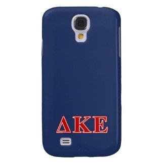 Delta Kappa Epsilon Red Letters Galaxy S4 Case