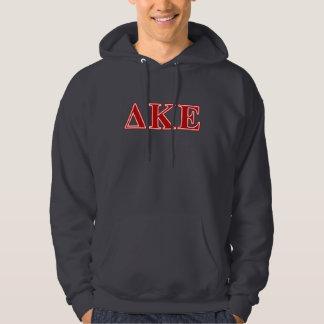 Delta Kappa Epsilon Red Letters Hoodie