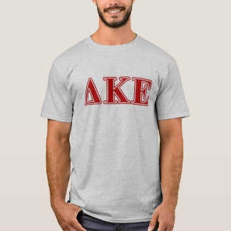 Delta Kappa Epsilon Red Letters T-Shirt