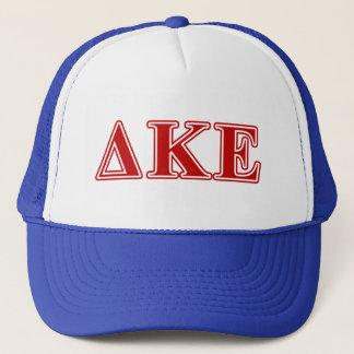 Delta Kappa Epsilon Red Letters Trucker Hat