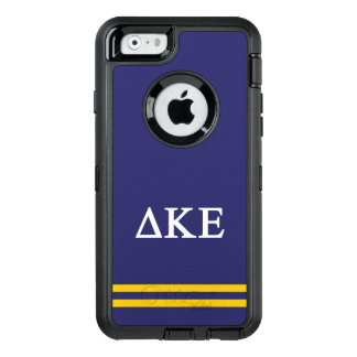 Delta Kappa Epsilon | Sport Stripe.ai OtterBox Defender iPhone Case