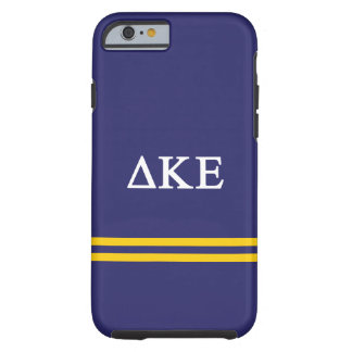 Delta Kappa Epsilon | Sport Stripe.ai Tough iPhone 6 Case