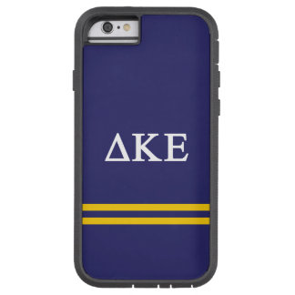 Delta Kappa Epsilon | Sport Stripe.ai Tough Xtreme iPhone 6 Case