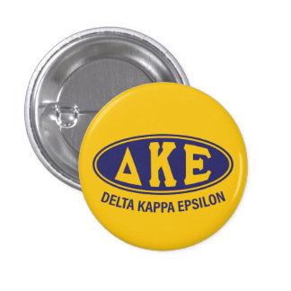 Delta Kappa Epsilon   Vintage 3 Cm Round Badge
