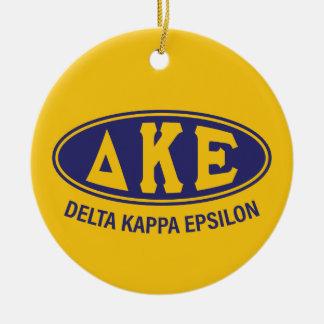 Delta Kappa Epsilon   Vintage Christmas Ornament