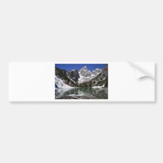 Delta Lake Grand Teton National Park Bumper Sticker