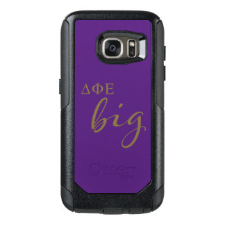 Delta Phi Epsilon Big Script OtterBox Samsung Galaxy S7 Case