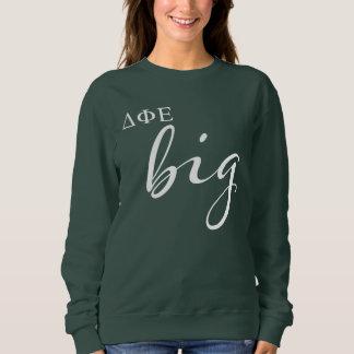 Delta Phi Epsilon Big Script Sweatshirt