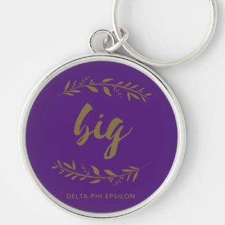 Delta Phi Epsilon Big Wreath Key Ring