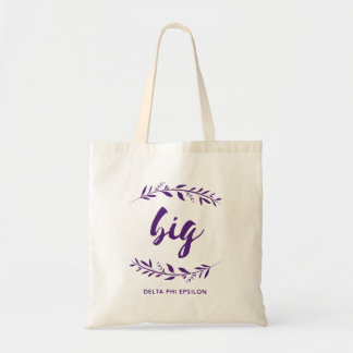 Delta Phi Epsilon Big Wreath Tote Bag