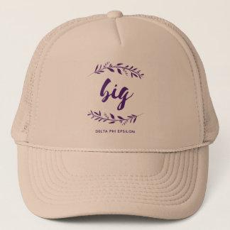 Delta Phi Epsilon Big Wreath Trucker Hat
