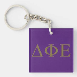 Delta Phi Epsilon Lil Big Logo Key Ring