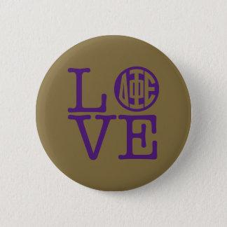 Delta Phi Epsilon Love 6 Cm Round Badge