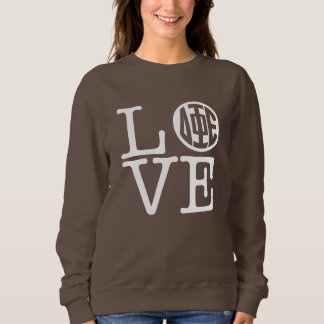 Delta Phi Epsilon Love Sweatshirt